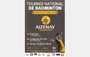 Tournoi officiel Aizenay